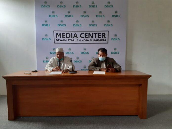 Jumpa pers Dewan Syariah Kota Surakarta terkait penyerangan zionis Israel ke Masjid Al Aqsha